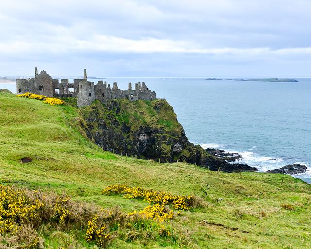 Castillo de Dunluce, uno de los lugares que visitar en Irlanda del Norte