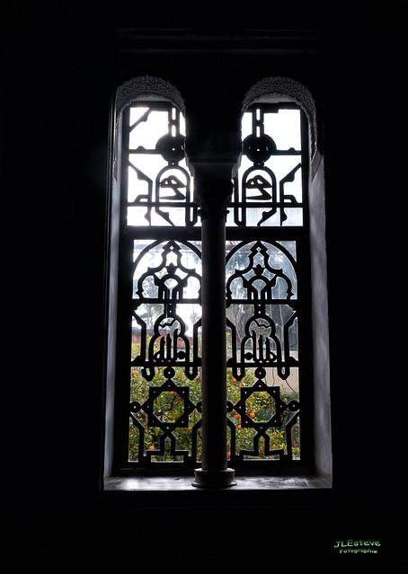Una ventana de los Alcázares