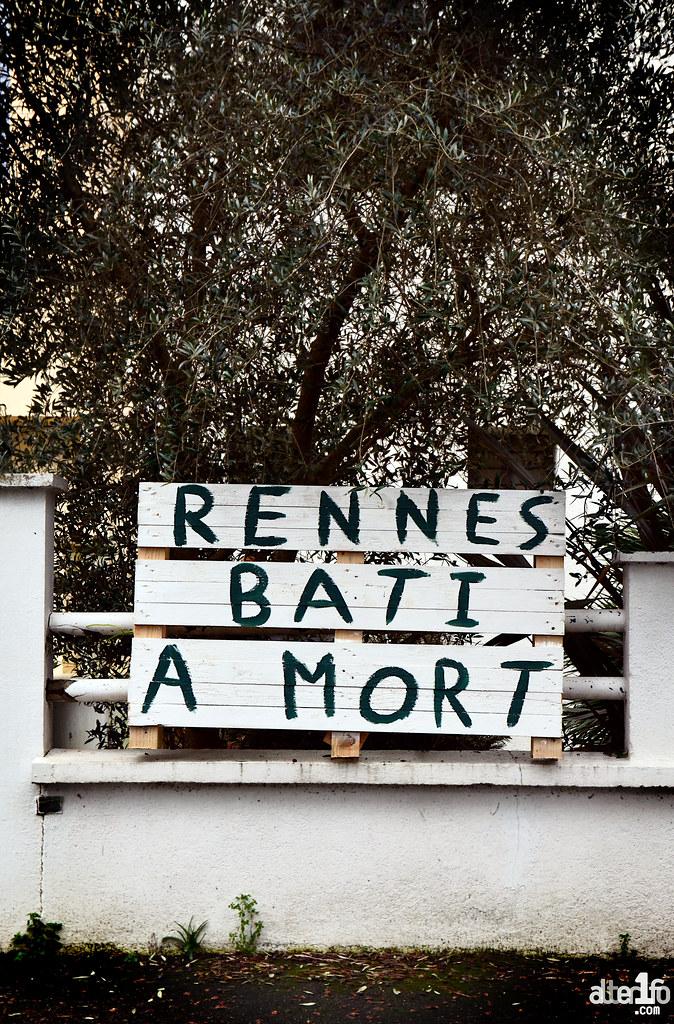 [27 janvier 2021] – Un jour, une photo : Laisse Béton, Rennes bâti à mort !