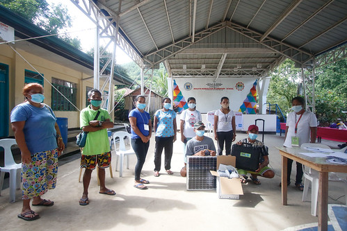 Solar TekPaks and NIWA Solar Power Systems as Community Charging Stations in Dumagat-Remontado Communities in Magata-Manggahan, Brgy. Laiban, Tanay, Rizal | by ICSC-Photos
