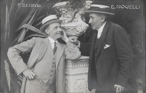 Ermete Novelli and Ferruccio Benini