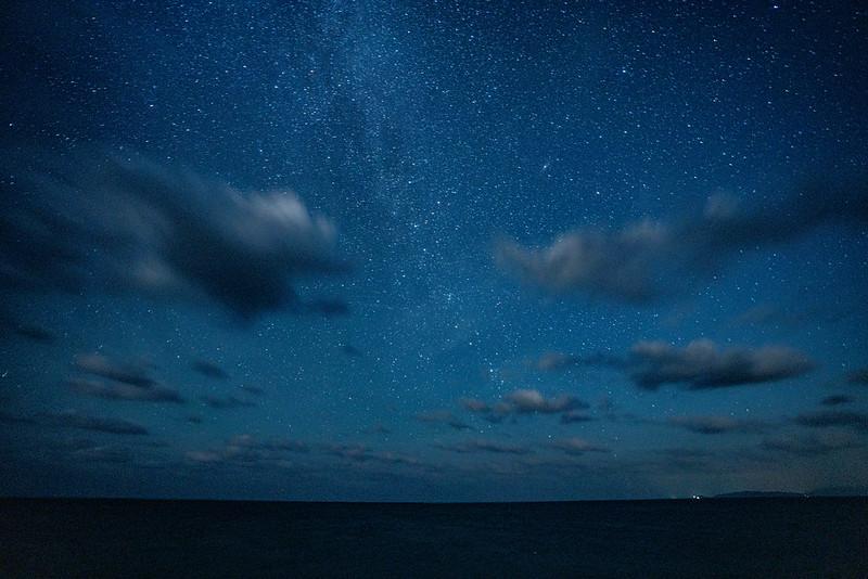 西表島の星空