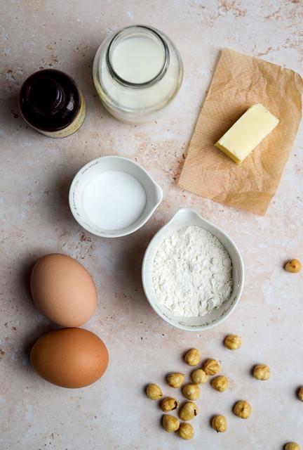Mini Dutch Baby Pancake Ingredients