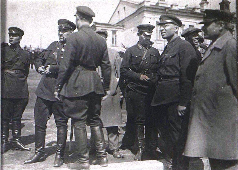 1 мая во Владивостоке. Берзин А. П. 1931...1