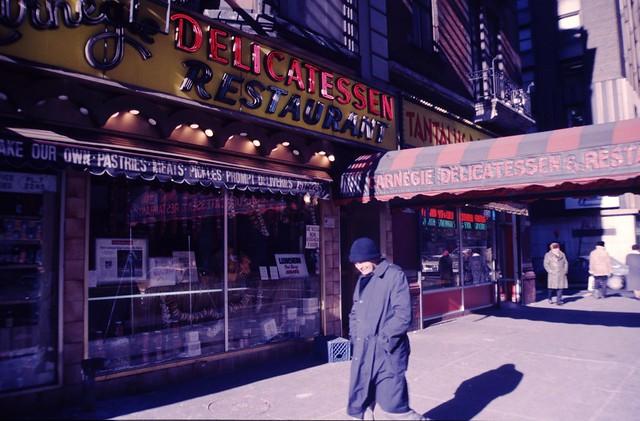New York City, USA - 22 December 1989