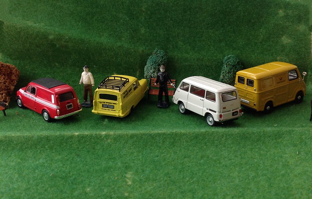 Micro Vans at Microcar Rally 2021