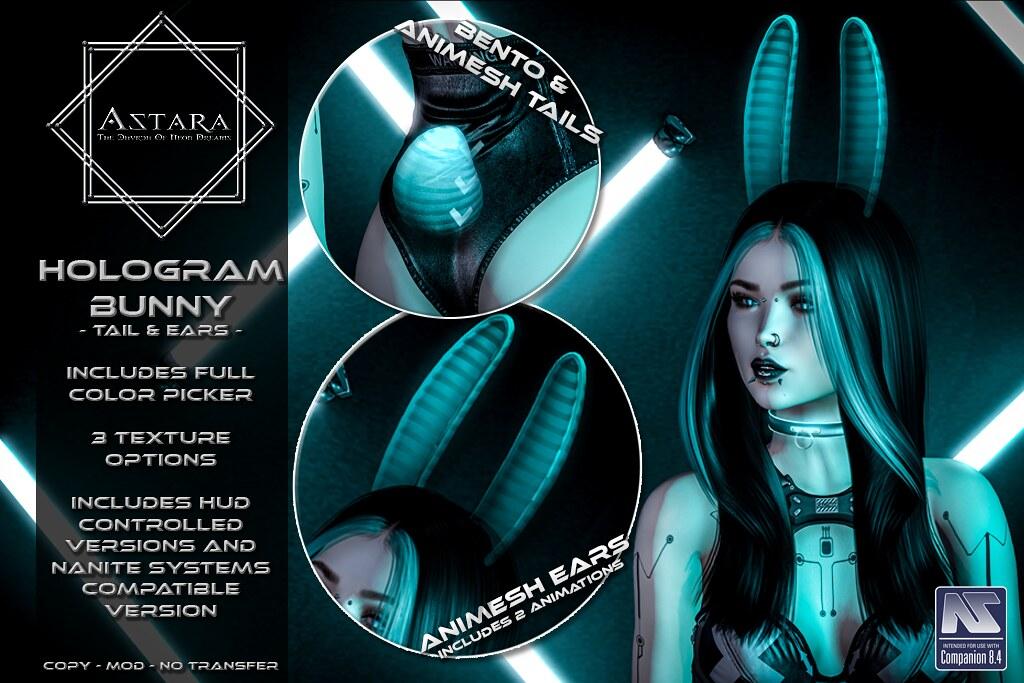 Astara – Hologram Bunny