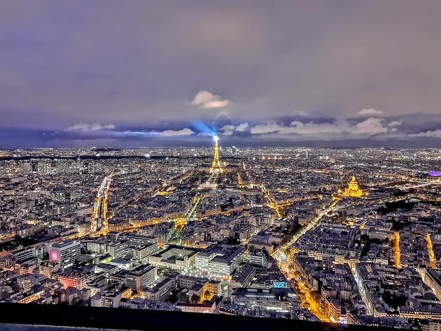 Paris from Monpernase