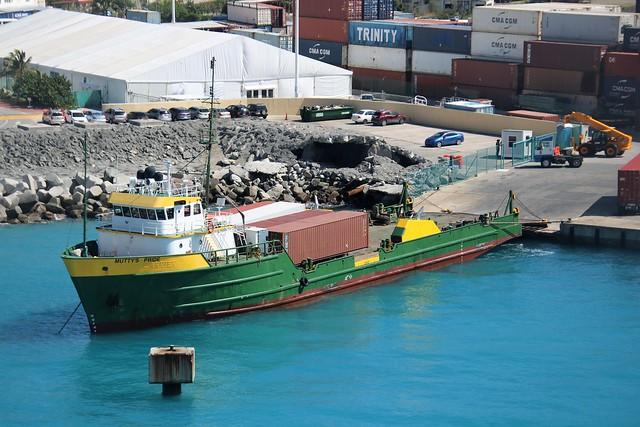 Muttys Pride, Philipsburg, Sint Maarten, Caribbean 20191110 Offshore Supply Ship IMO 7917557