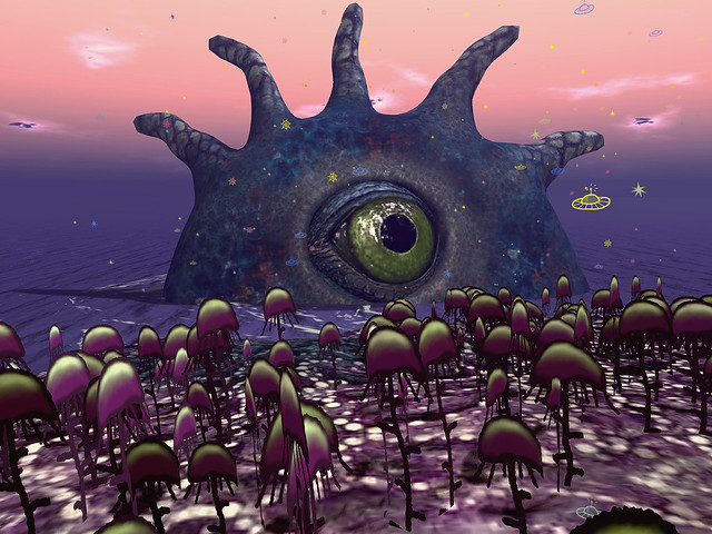 Planet by Cica Ghost -  Alien Eye Sees You