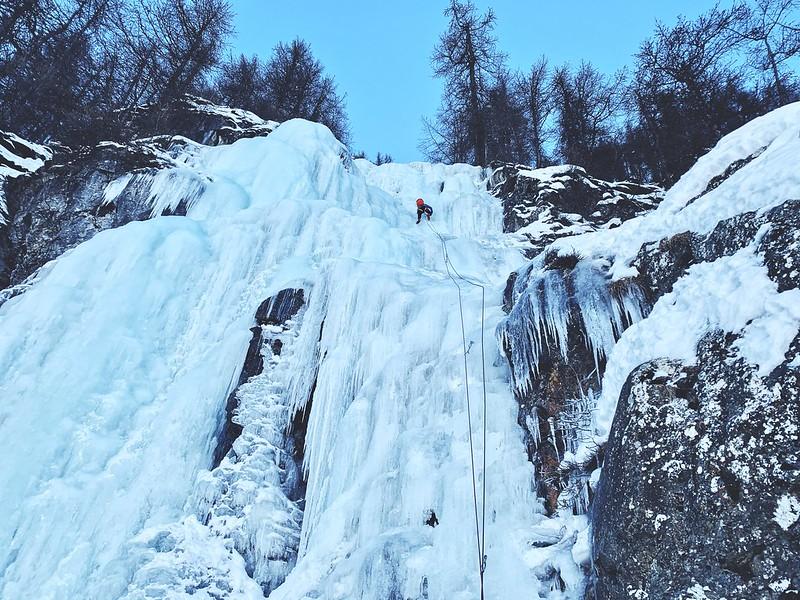 Jääkiipeily Ranska