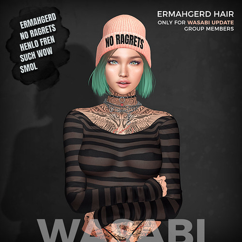 New group gift in store - Ermahgerd hair!
