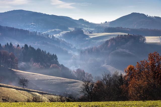 Homeland - Valleys and hills