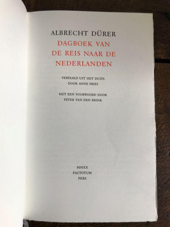 IMG_4629FactotumPersAlbrechtDürerDagboekVanDeReisNaarDeNederlandenTitelblad