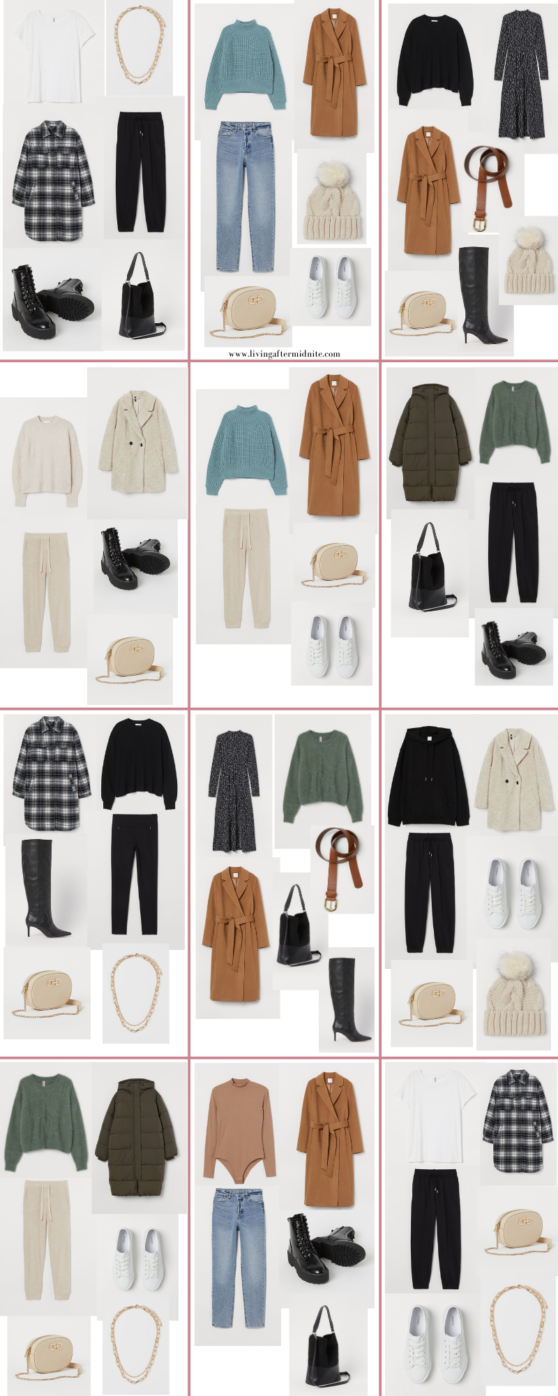 Affordable H&M Winter Capsule Wardrobe | 26 Pieces, 48+ Outfits | How to Build a Capsule Wardrobe | H&M Winter Clothes | Outfit Inspiration | Winter Fashion | 48 Cold Weather Outfit Ideas | Winter Vacation Packing Guide | Winter Outfits 2020 2021