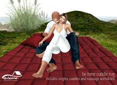 New @home for  Hi Thursday! - Be Mine - Cuddle Rug