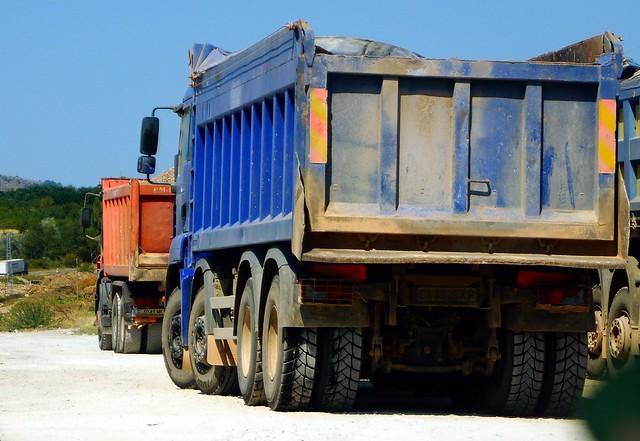 MAN TG-A M Euro3 35.390 8x4 BB (2007) - Bozhanov Group Sofia City, Bulgaria