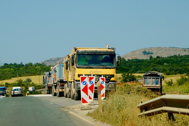 Tippers of Bozhanov Group
