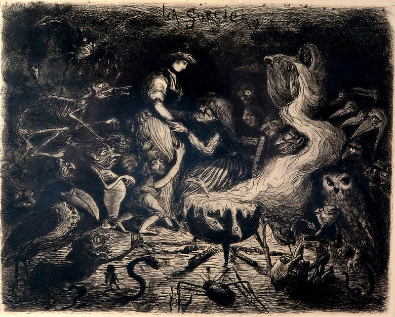 Joannès Drevet -  The Witch, 1904