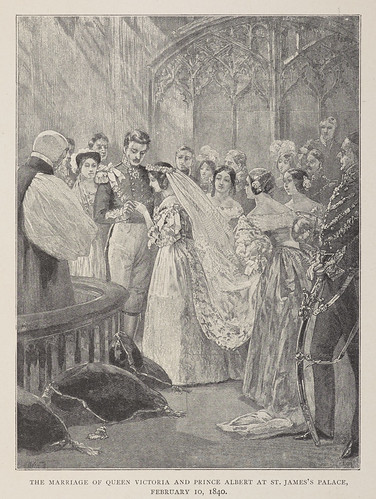 Illustration of the marriage of Queen Victoria and Prince Albert, 10 February 1840 | by Archives New Zealand