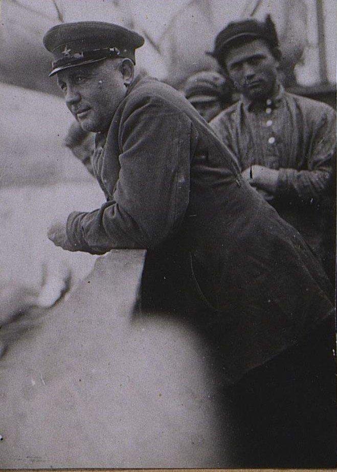 Тов.Коваленко «Батька»- начальник ОГПУ Камчатки. Берзин А. П. 1931