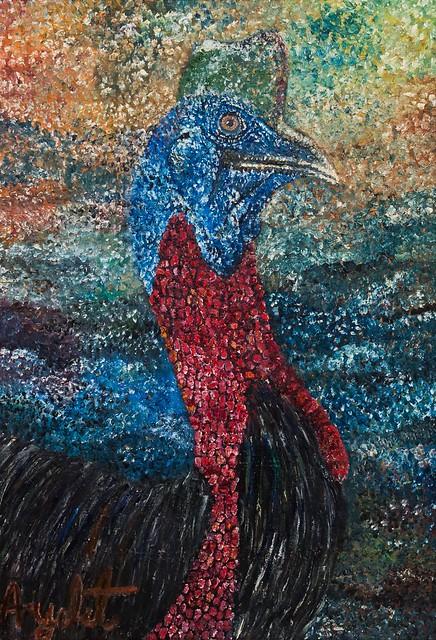 איילת בוקר  יוצרת פוינטליסטית אימפרסיוניסטית מודרנית אמנית ציירת