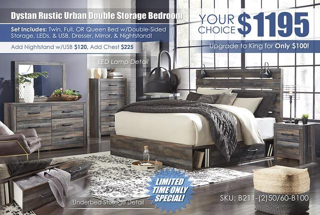 Drystan Urban Rustic Double Storage Special_B211_Update