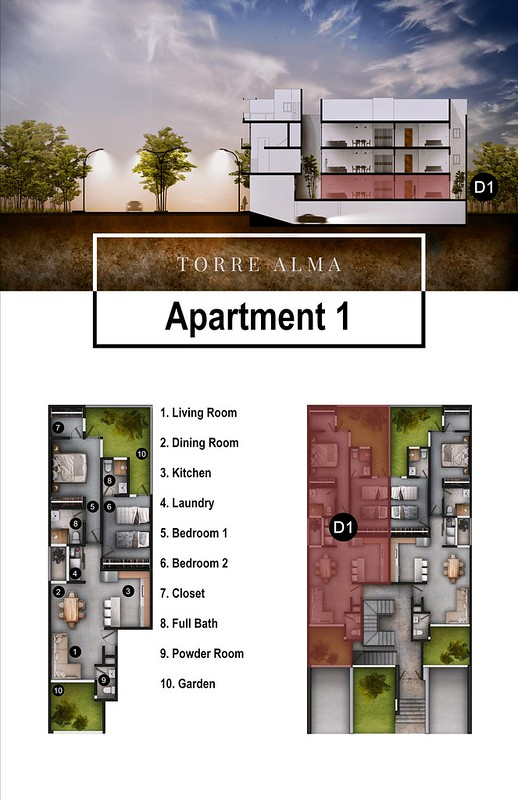 Torre Alma - Floor Plans