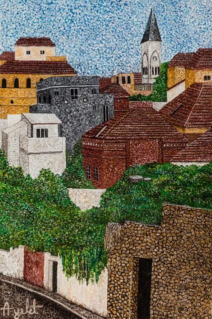 איילת בוקר פוינטליזם אימפרסיוניזם יוצרות מודרניות עכשוויות הציירת האמנית