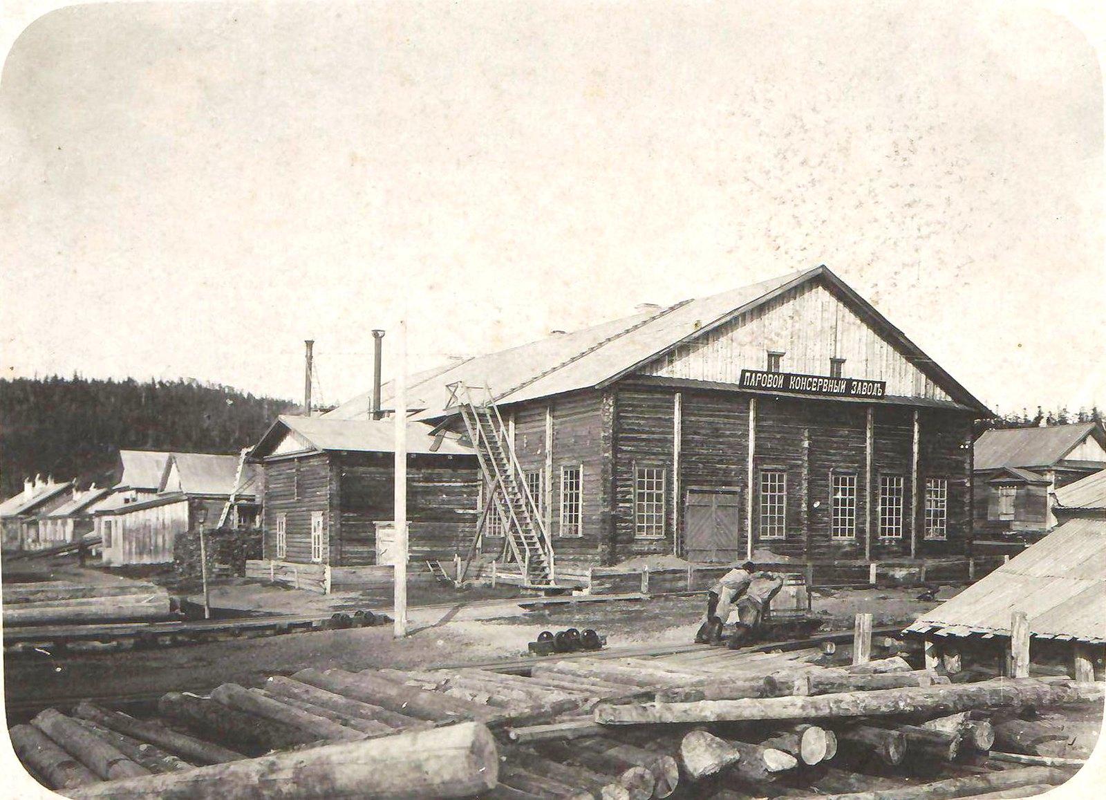 08. Паровой консервный и лесопильный завод Мюллера вблизи мыса Пронге