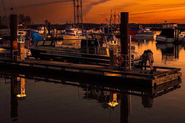 Steveston dock