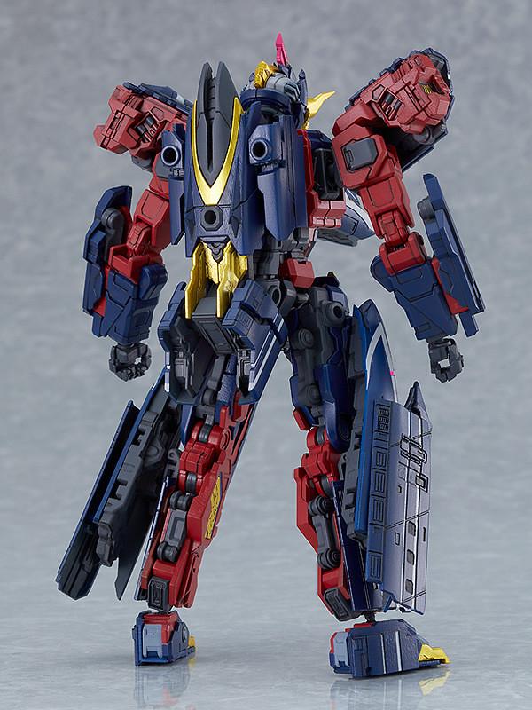 MODEROID《新幹線變形機器人Shinkalion》暗黑魔王號  神出鬼沒的惡鬼之姿 07 月登場!