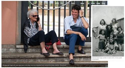 ROMA ARCHEOLOGICA & RESTAURO ARCHITETTURA 2021. Four Romans Holocaust survivors tell how they escaped death on 'Black Saturday.' The Times Of Israel (27/01/2021). Foto: Romani - Marco Di Porto & Gianni de Dominicis; in: G. Dominicis / Fb (27/01/2019).