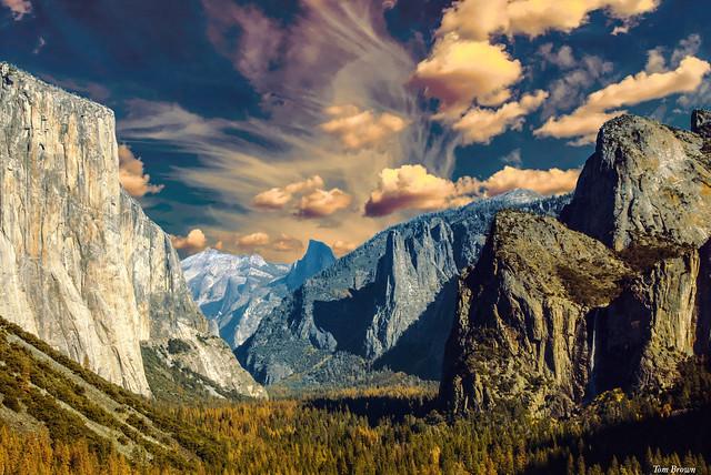 'El Capitan Valley' Yosemite