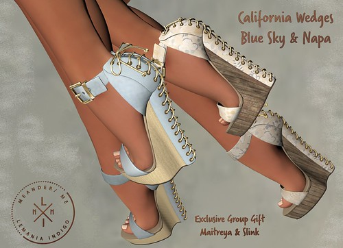MM California Wedges - Group Gift @ Meander