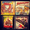 Another set of 4 Atari ST games from the 80s: 3 good arcade ports & 1 not fun computer original. The Predator game had a frustratingly stingy bullet economy. #atari #atarist #atarigaming #retrocomputers #retrogaming #haveyouplayedataritoday