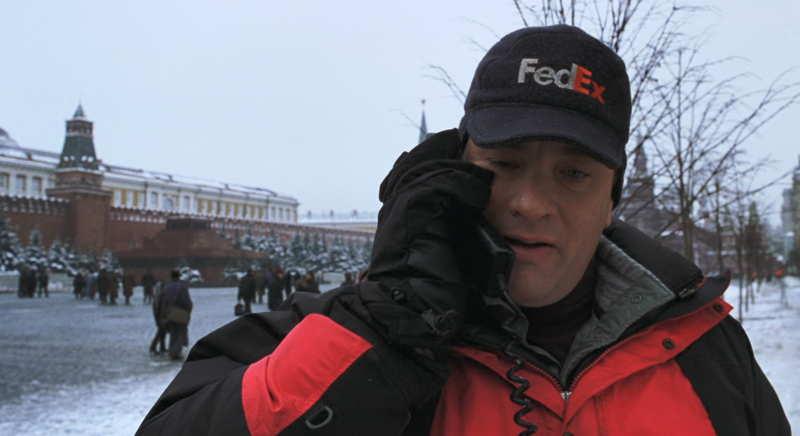 Tom Hanks in the Red Square