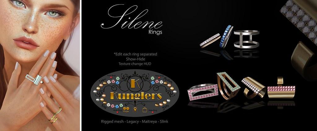 KUNGLERS - Silene rings