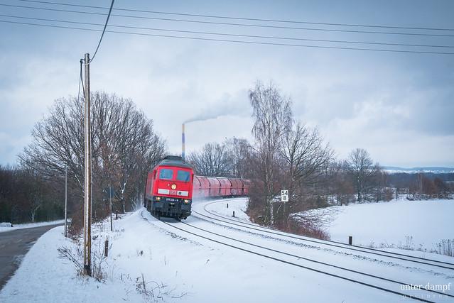 DBC 233 232 in Wittgensdorf