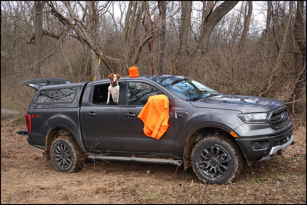 1-27-21 - Training Day - the truck wearing orange