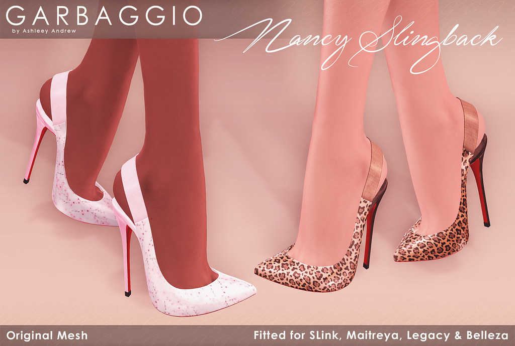 Garbaggio Nancy Slingback