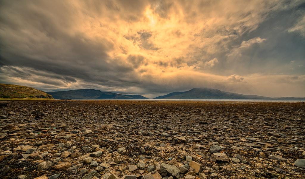 Loch Alsh, Scotland.