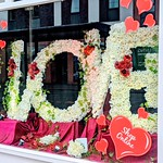 Love is in the air at Margaret Mason florist in Preston