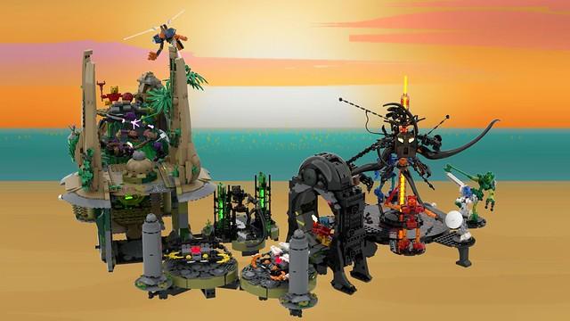 [LEGO Ideas] BIONICLE Legacy: Storytelling with LEGO Bricks