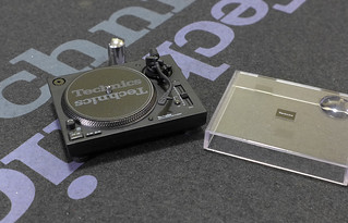 Technics Miniature set - SL1210 MK7 | by Nicadraus