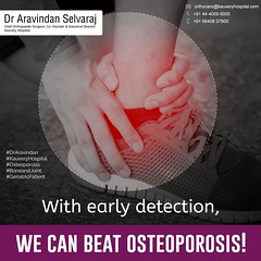With early detection, We can beat osteoporosis!