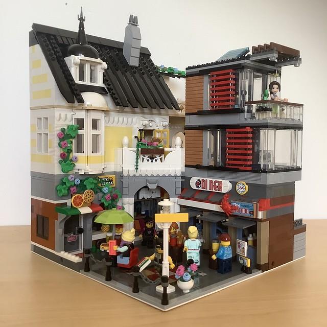 Food court corner