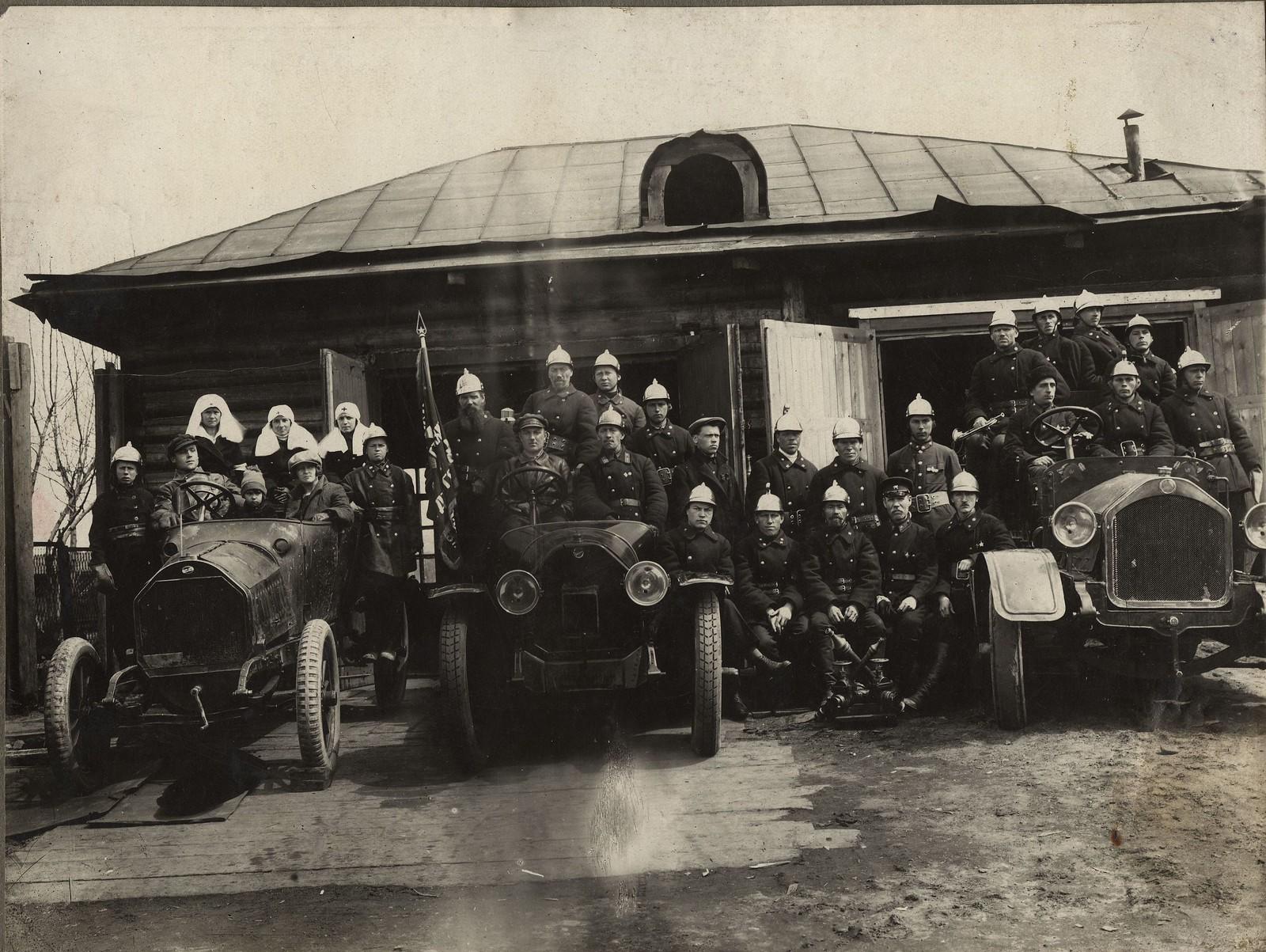 1930-е. Пожарная команда Иркутска