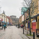Friargate in Preston bit busier recently