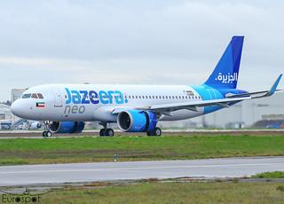 F-WWBC / 9K-CBH Airbus A320-251N Jazeera s/n 10488 * Toulouse Blagnac 2021 *